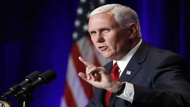 Mike Pence Denies 'Laughable and Absurd' Allegation of 2020 Run for President