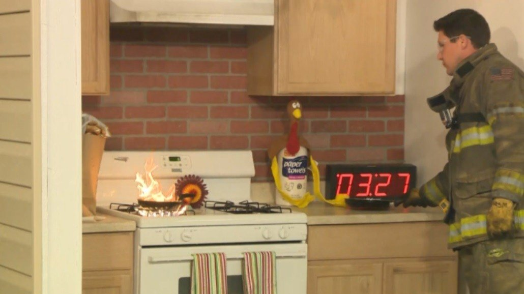 Thanksgiving Day Safety Tips: Avoid Cooking Fires