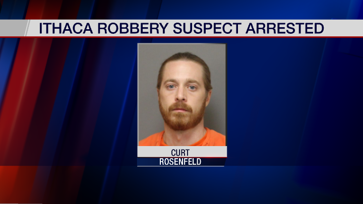 Ithaca Police arrest man accused of armed robbery spree