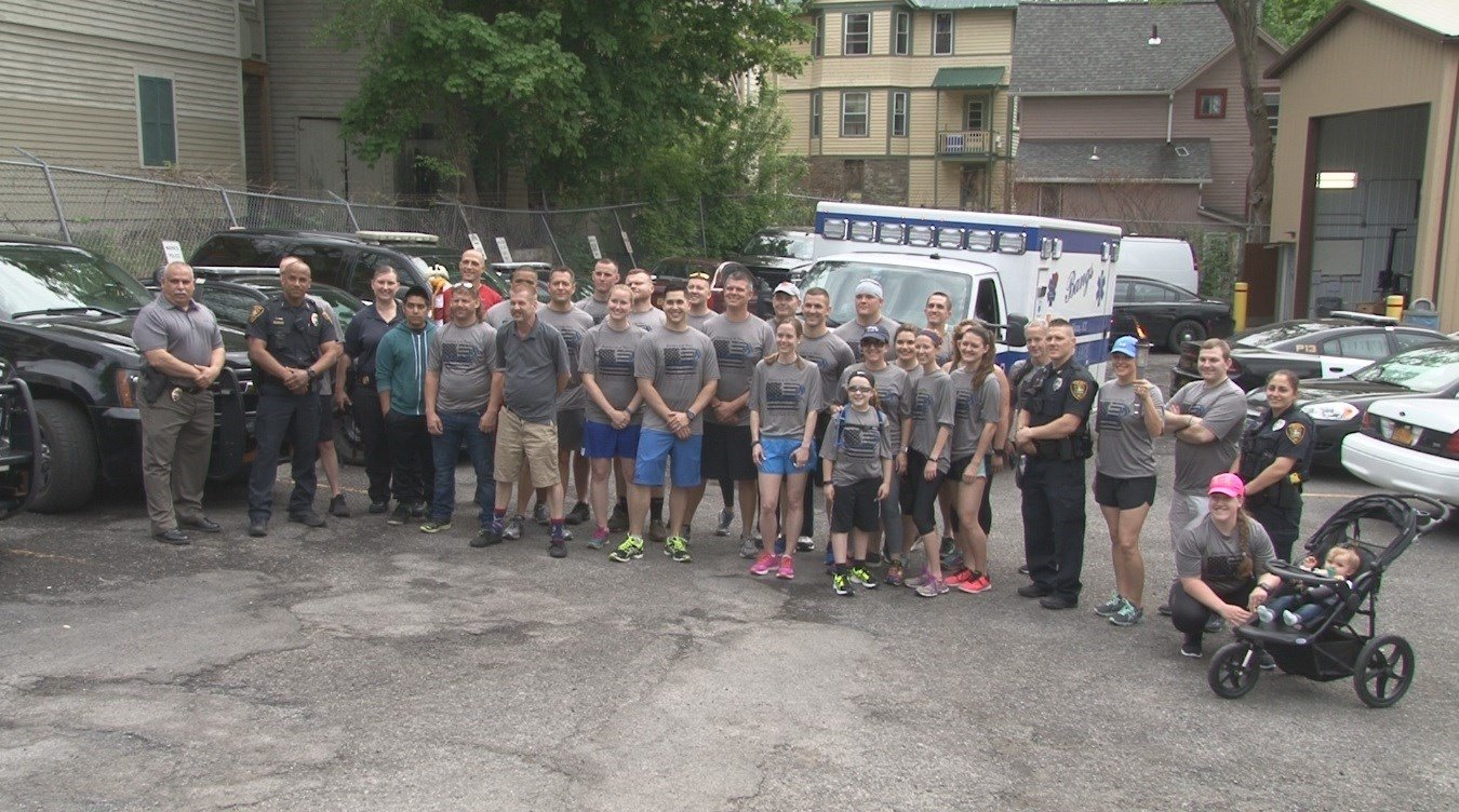 Law Enforcement Torch Run begins in Hamburg to Benefit Special Olympics