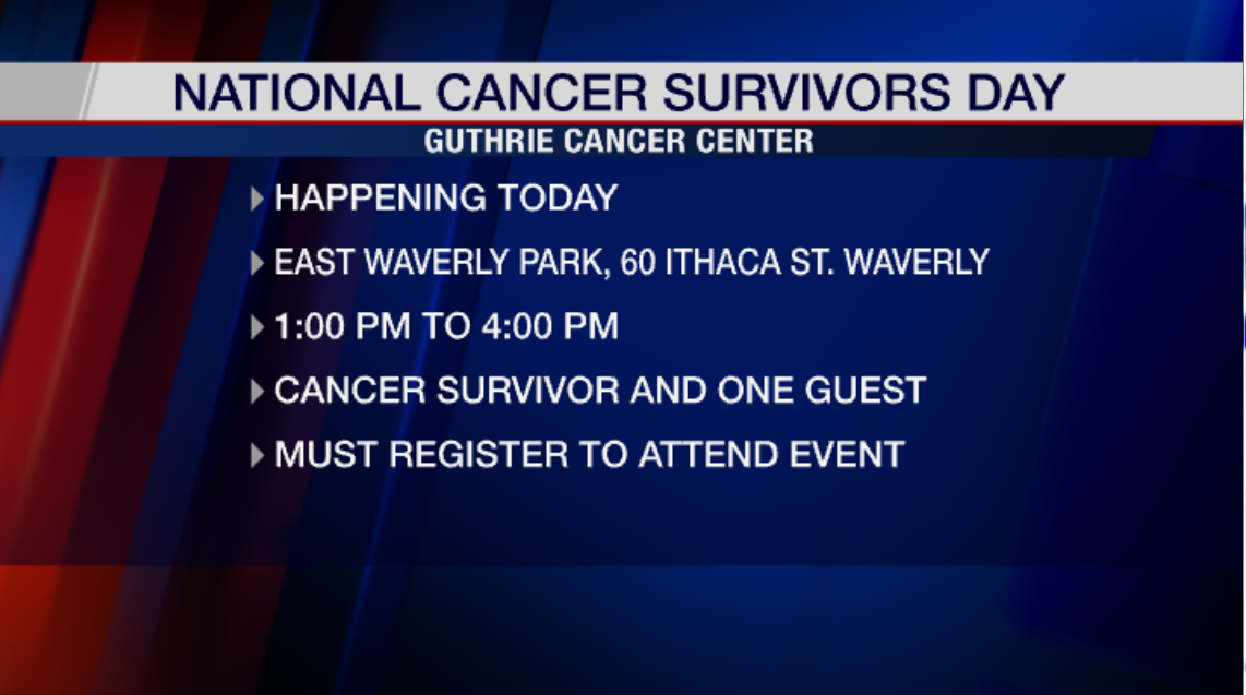 Celebration for cancer survivors set for this weekend