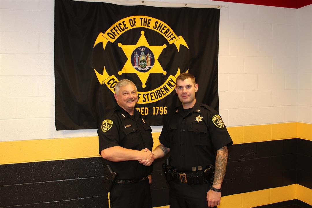 Sheriff Allard and Deputy Sheriff Matthew Wood