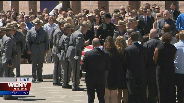 New York State Trooper Nicholas Clark Funeral