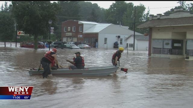 Weny News Flash Flooding Across The Twin Tiers
