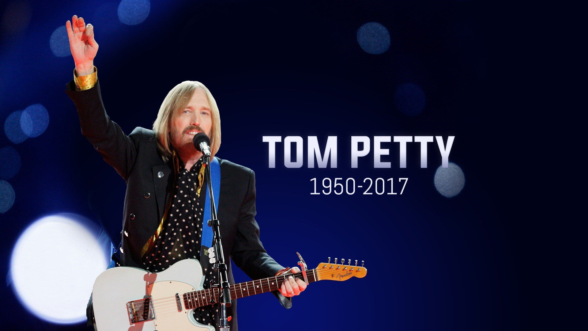 Weny News Rock Superstar Tom Petty Dies At 66 Years Old