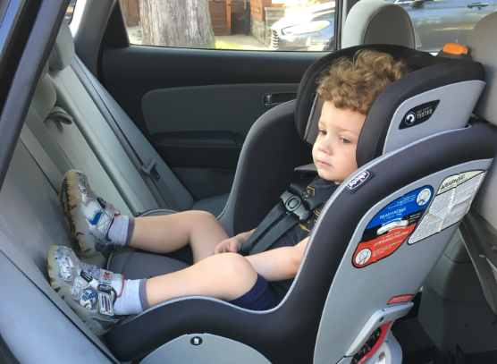 WENY News - New Car Seat Law for Children 2 Years Old or Younger