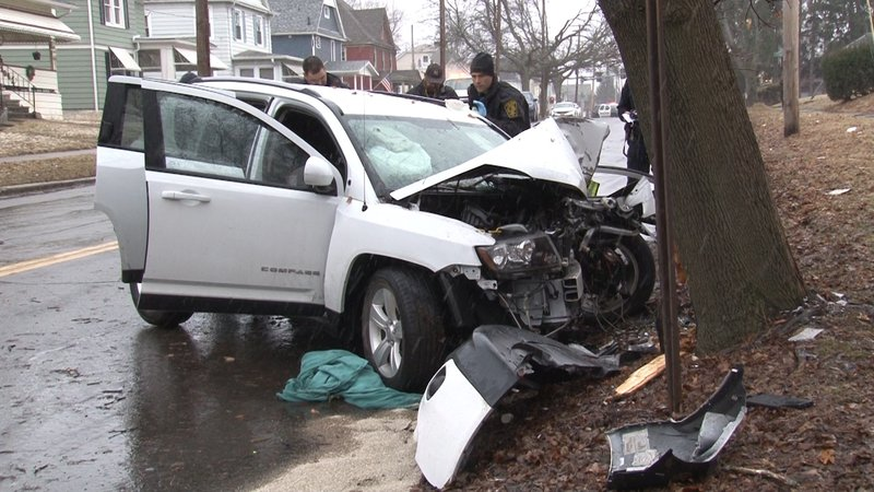 WENY News - Man s from injuries after car crash in Elmira