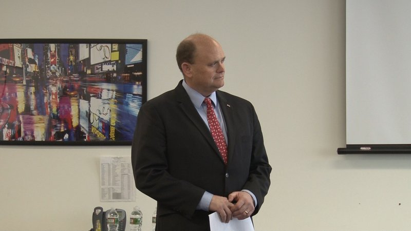 weny news congressman reed discusses tax reform with cvs employees