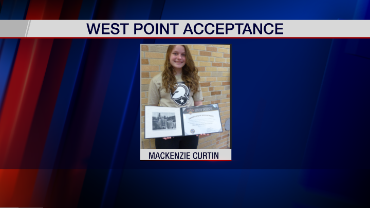 Wayland-Cohocton Student Accepted into Military Academy at West Point