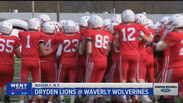 Waverly football cruises past Dryden, 55-12 for first win of season