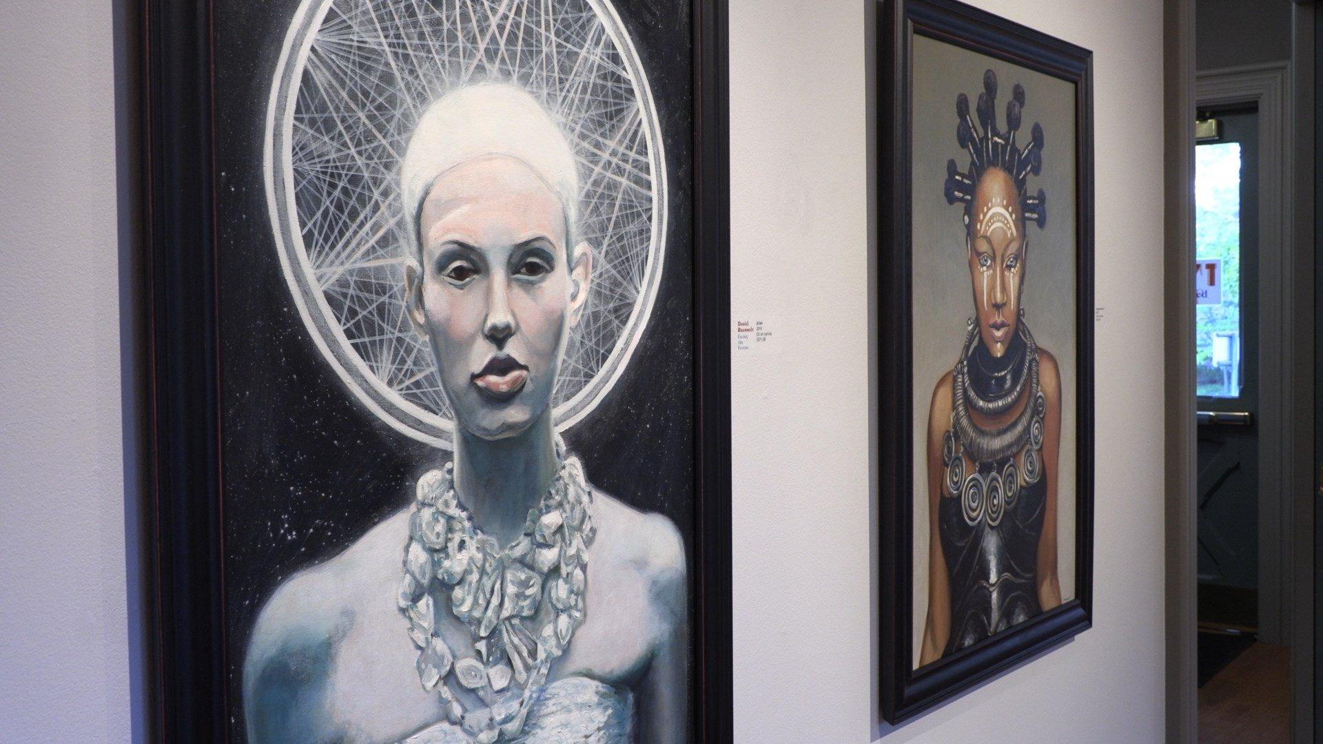 Retired art teacher launches unique art exhibit at 171 Cedar Arts