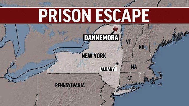 Map Of New York Dannemora.Trooper In Charge Of 2015 Ny Prison Escape Manhunt Writes Book