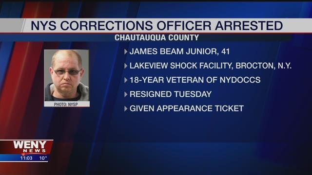 Former NY state prison guard charged with raping inmate