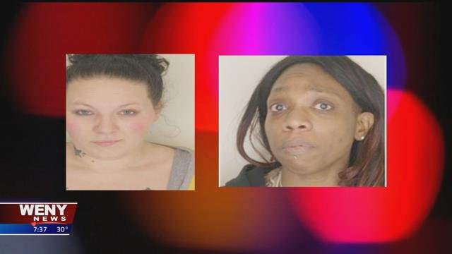 Two Women Arrested on Drug Related Charges in Waverly - WENY News