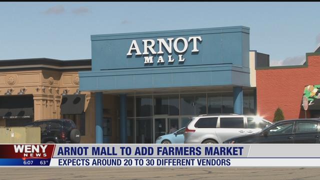 Arnot Mall To Host Summer Farmers Market Weny News