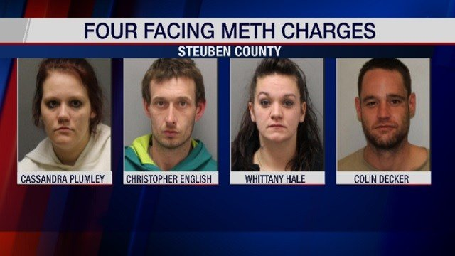 Four Arrested in Alleged Motel Meth-Making Operation - WENY News