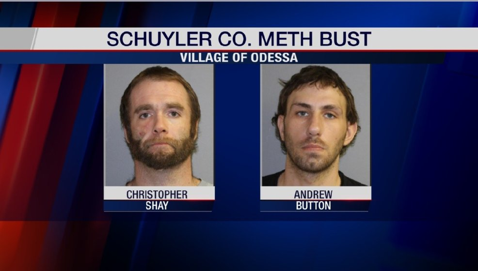 Two Arrested in Odessa Meth Bust - WENY News