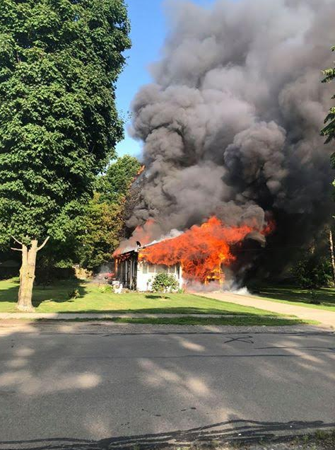 Steuben County Family Loses Everything In House Fire