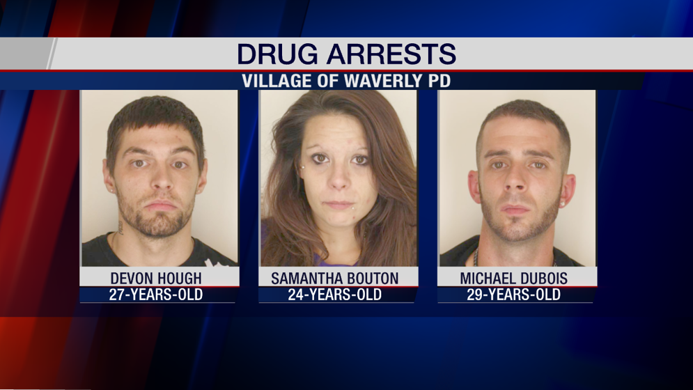 Three People Arrested, Facing Drug Charges - WENY News