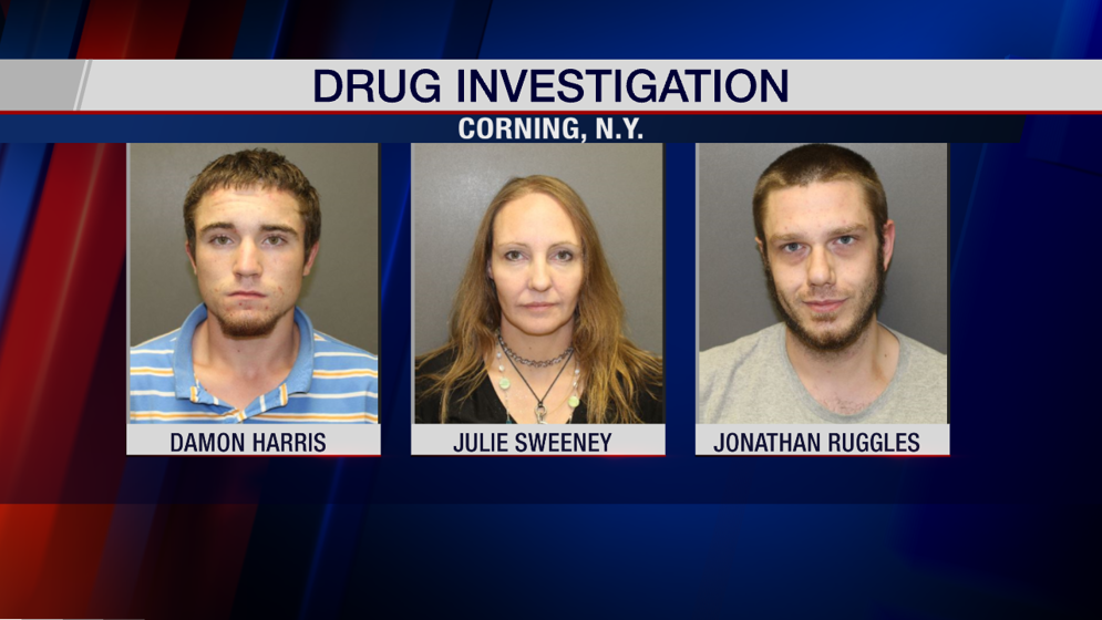 Three suspects arrested after drug activity investigation - WENY News