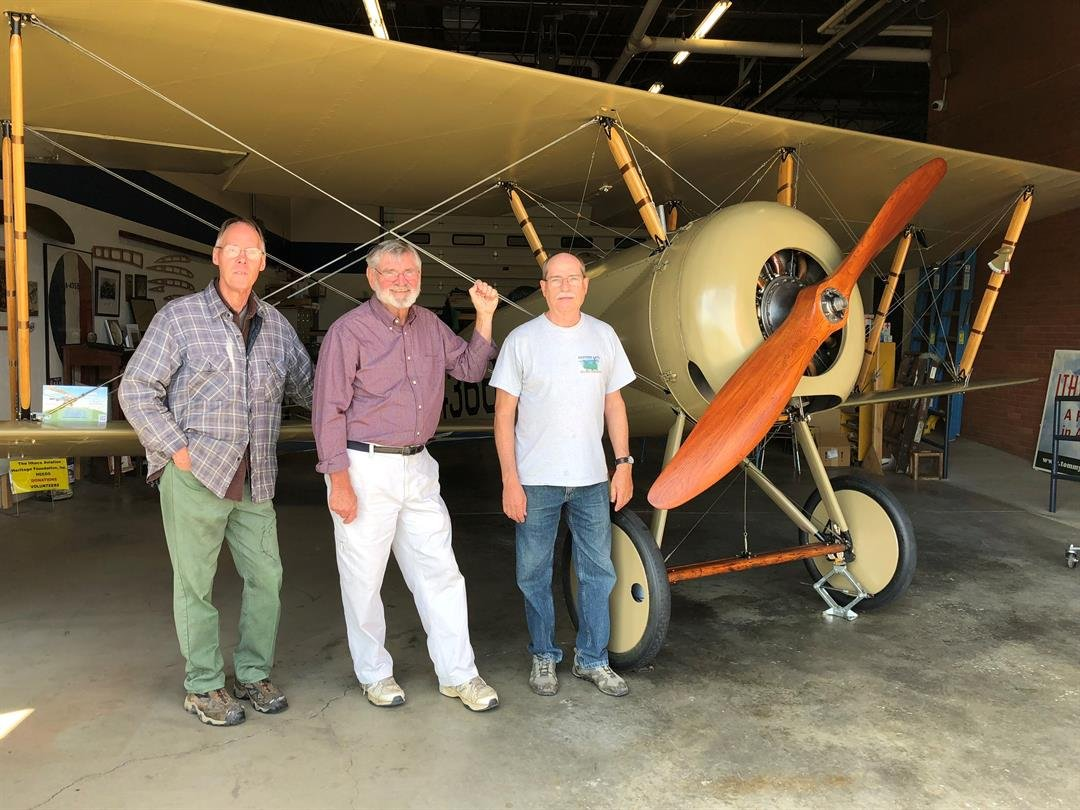 Restored Wwi Plane With Local Ties To Fly Again Weny News