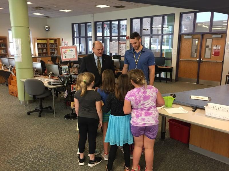 Weny News Congressman Visits Local Middle Schools After School Program