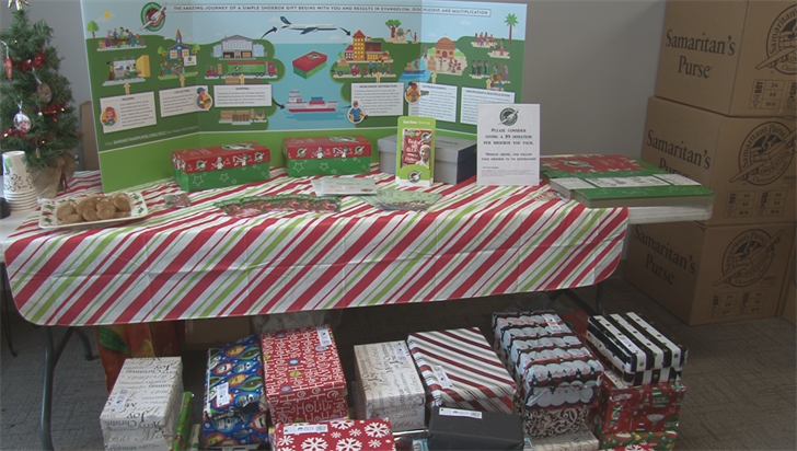 WENY News - Donated Christmas Gifts to be Sent Worldwide from ...
