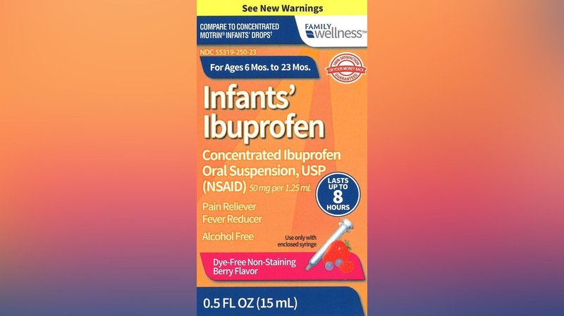 Weny News Baby Ibuprofen Recall What You Need To Know