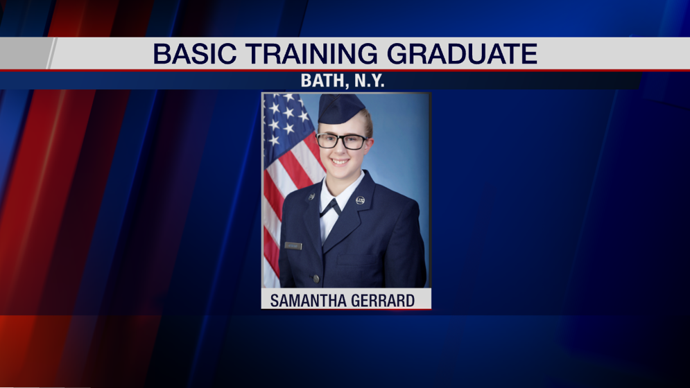 Bath native graduates from basic Air Force training - WENY News