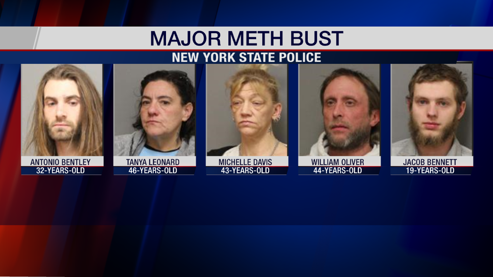 Meth Bust in Tompkins County - WENY News