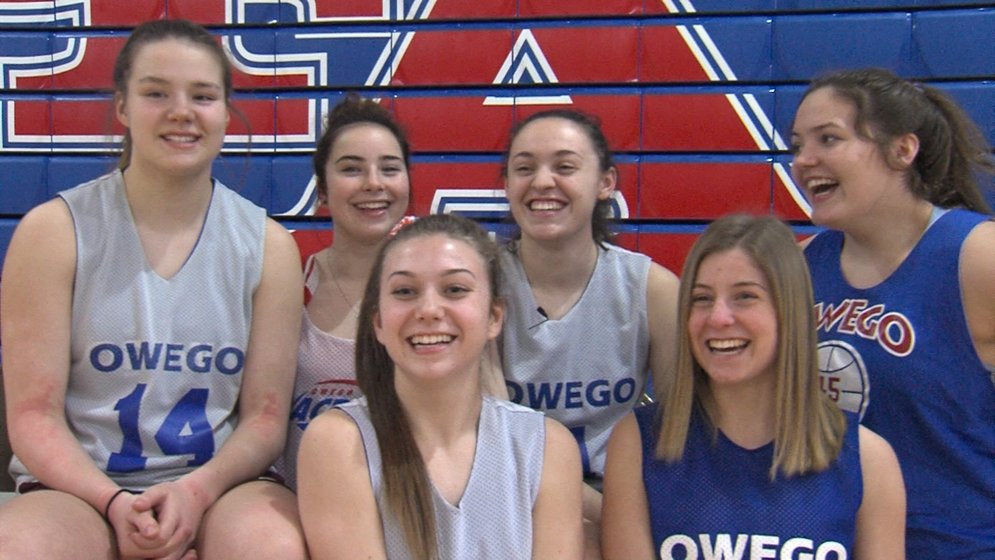 Fun And Games Go Hand In Hand For Owego Girls Basketball Weny News
