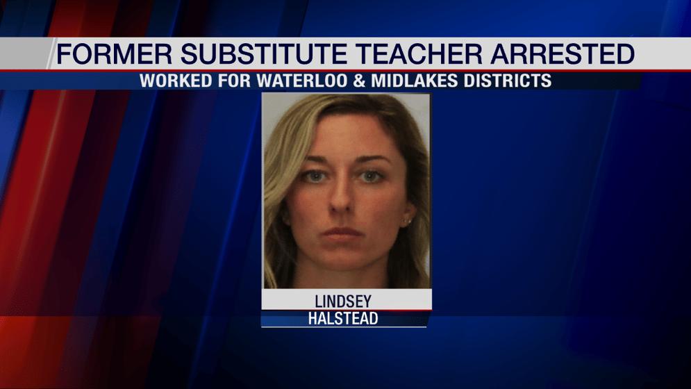 Former substitute teacher arrested for allegedly having sex