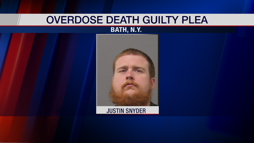 Bath man pleads guilty in connection to veteran's overdose death