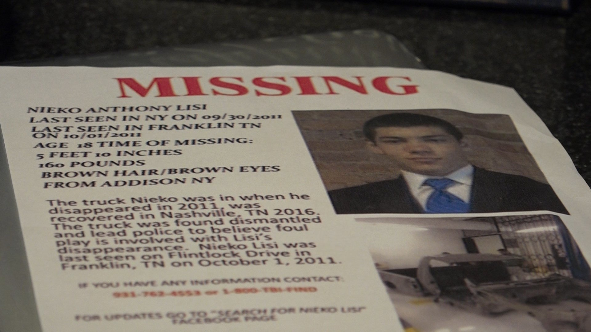 Mother of missing man looks to take his story nationally