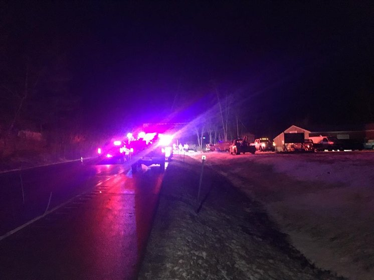 Five-vehicle crash shuts down Rt. 13 in Schuyler County