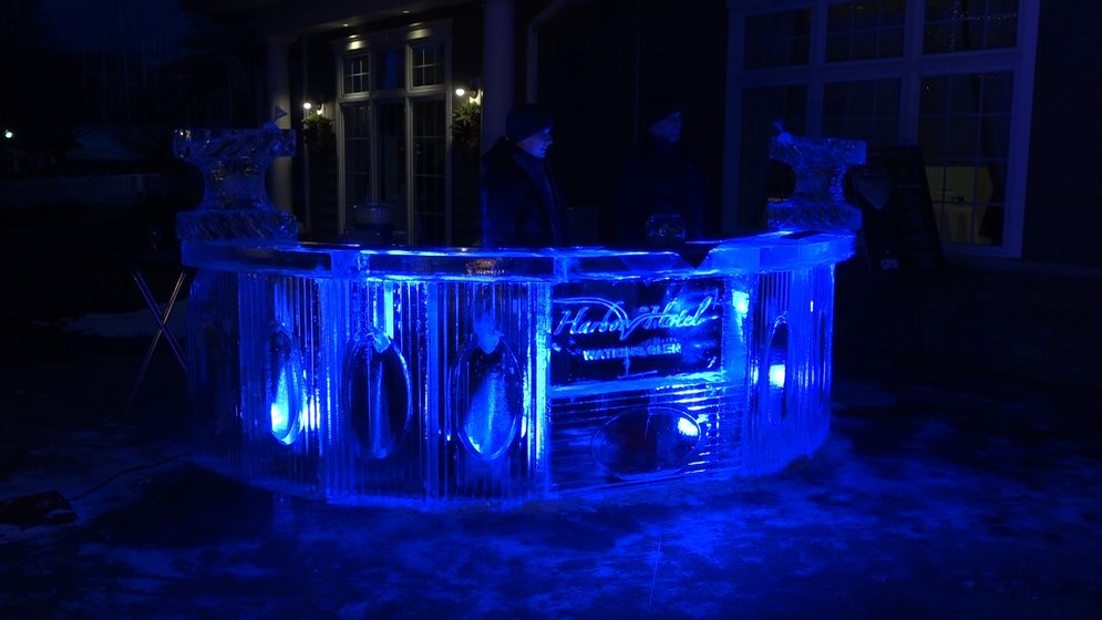 Ice Bar opens in Watkins Glen for this weekend